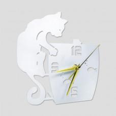 WATCH CAT ERGAL CERAMIC WHITE HYPOALLERGENIC HOME DESIGN GIFT IDEA