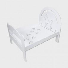 CAT BED ERGAL CERAMIC WHITE HYPOALLERGENIC DESIGN HOME