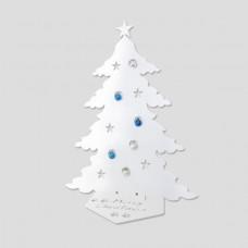 GREAT - CHRISTMAS TREE INDESTRUCTIBLE CAT ERGAL CERAMIC WHITE HYPOALLERGENIC HOME DESIGN GIFT IDEA
